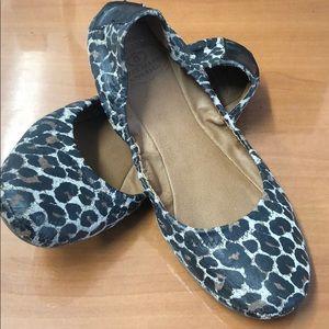 Lucky Brand Emmie 2 Leopard Print Flats